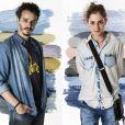 Na novela 'A Força do Querer', Cláudio (Gabriel Stauffer) será apaixonado pela personagem trans homem Ivana (Carol Duarte)