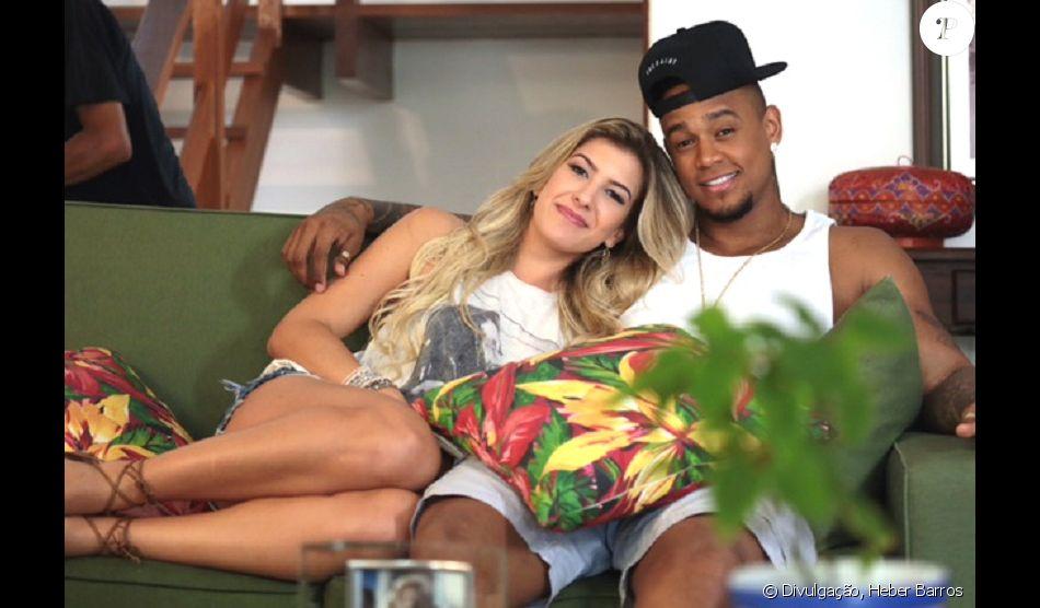 Leo Santana está namorando Lorena Improta, ex-affair de Neymar