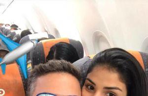 Ex-BBB Munik curte viagem com noivo, Anderson Felício: 'Lampião e Maria Bonita'