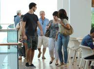Fátima Bernardes vai ao shopping com filhos Vinícius e Beatriz e amigos. Fotos!