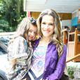 Ingrid Guimarães é mãe de Clara, de 4 anos