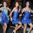 Miss Brasil 2016, Raissa Santana, foi apresentada como nova musa da Vila Isabel, escola de samba do Rio, na noite desta quarta-feira, 15 de fevereiro de 2017