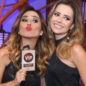 Tatá Werneck, fã de Sandy, ganha presente da cantora: 'Convite VIP vitalício'