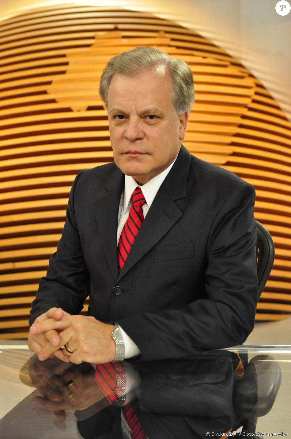 Chico Pinheiro ficou afastado do 'Bom dia Brasil' desde terça-feira, 14 de fevereiro de 2017, devido a problemas cardíacos