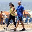 Patricia Poeta nega crise em casamento com Amauri Soares, diretor da Globo