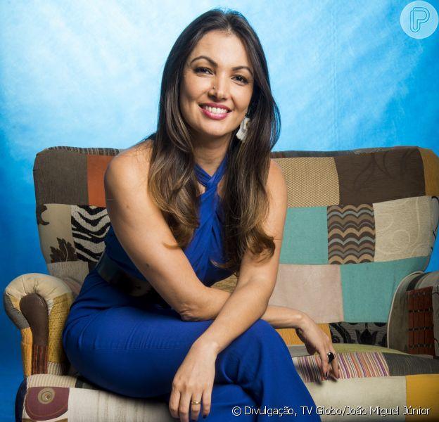 Patricia Poeta nega crise em casamento com Amauri Soares, diretor da Globo, indicou uma fonte próxima à apresentadora ao Purepeople nesta quinta-feira, dia 16 de fevereiro de 2017