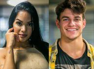 Ex-BBB Mayara termina romance com Antonio: 'Aqui fora as coisas são diferentes'