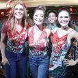 Juliana Paes vai desfilar na Grande Rio como fã de Ivete Sangalo no Carnaval 2017