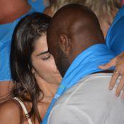 Rafael Zulu troca beijos com a namorada em show do Aviões do Forró, em PE. Fotos
