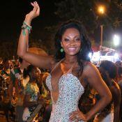 Rainha de bateria Camila Silva agita último ensaio de rua da Mocidade. Fotos!