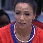 'BBB17': Marinalva condena atitudes de Emilly. 'Quis me pintar um monstro'