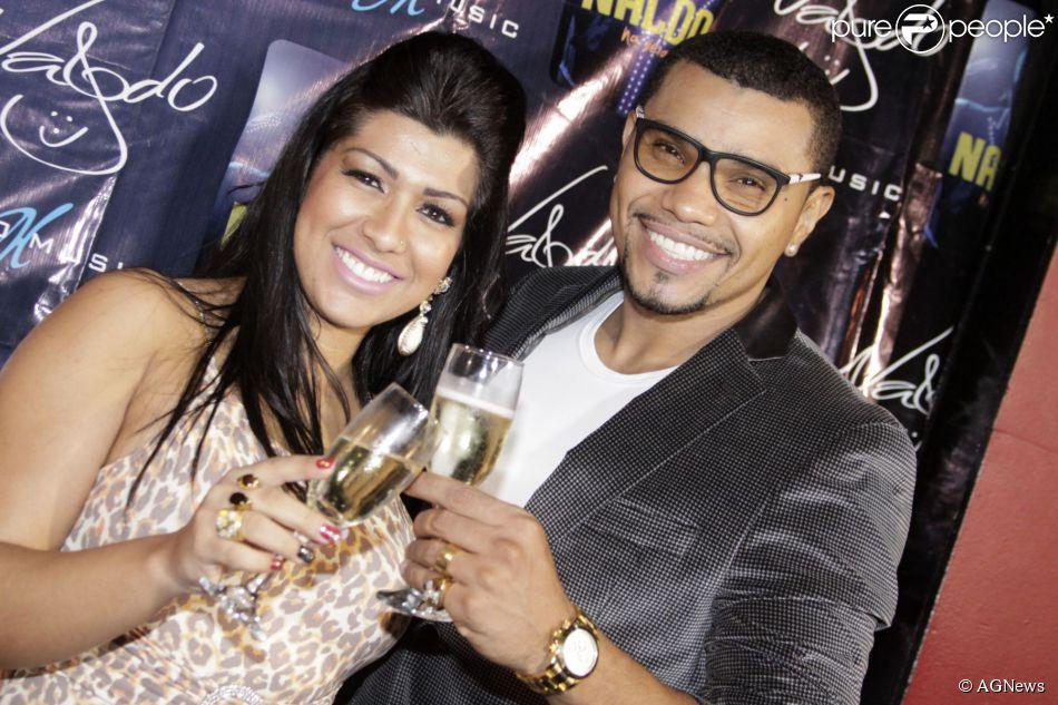 Naldo vai ter um filho com Ellen Cardoso. A informação foi divulgada pelo jornal 'Extra' em 11 de fevereiro de 2014