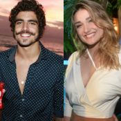 Amigos de Caio Castro negam affair do ator com Sasha Meneghel: 'Não tem romance'