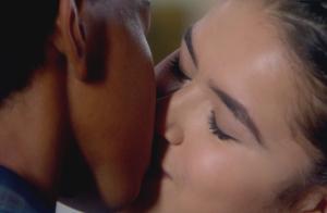 Maisa Silva beija Jean Paulo em 'Carinha de Anjo' e agita web: 'Sensacional'