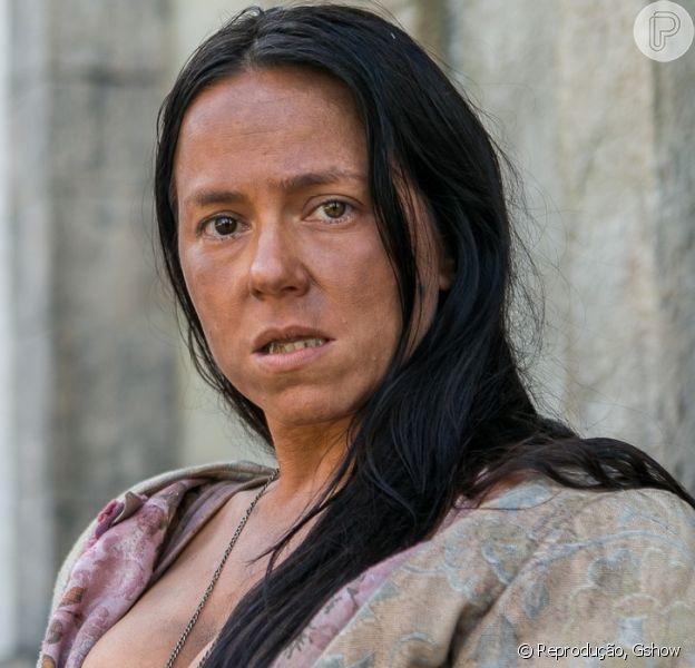 Vivianne Pasmanter surge com pele suja e dentes podres para novela 'Novo Mundo'