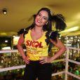 'Estou nessa relação há três anos e estou muito feliz. A Ana não fica com ciúme', diz Leticia Lima curtindo Carnaval em Salvador, Bahia