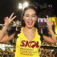 Sem a namorada, Ana Carolina, Leticia Lima curte show de Preta Gil no trio elétrico, no Carnaval em Salvador, Bahia, na noite desta quinta-feira, 23 de fevereiro de 2017