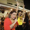 Leticia Lima voltou a agitar o Carnaval 2017 ao lado da amiga e cantora Preta Gil, nanoite desta quinta-feira, 23 de fevereiro de 2017