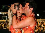 Carnaval: Mirella Santos troca beijos com o marido, Ceará, em Salvador. Fotos!