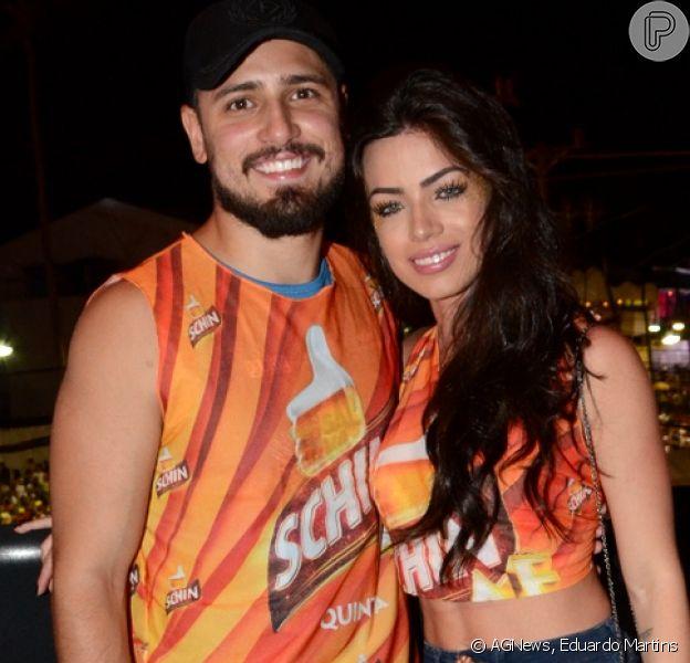 Daniel Rocha curtiu a primeira noite de Carnaval em Salvador nesta quinta-feira, 23 de fevereiro de 2017