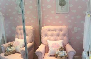 Deborah Secco muda decoração do quarto da filha, Maria Flor: 'Delicado'. Fotos!