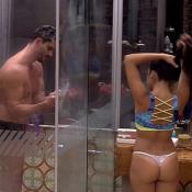 'BBB17': Após receber carícia ousada de Marcos, Emilly toma banho com o médico