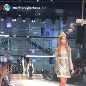 Grazi Massafera e Marina Ruy Barbosa desfilam em Milão. Veja vídeo e fotos!