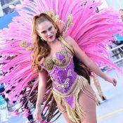 Carnaval: Ellen Rocche, mais magra, desfila pela Rosas de Ouro. 'Sou o docinho'