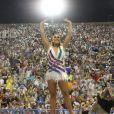Ivete Sangalo trocou de roupa na comissão de frente da Grande Rio