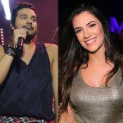 Luan Santana faz com show com a namorada, Jade Magalhães, na plateia. Fotos!