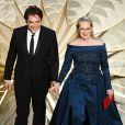 Meryl Streep de Elie Saab na 89ª edição do Oscar, em Los Angeles, na Califórnia, realizada na noite deste domingo, 26 de fevereiro de 2017