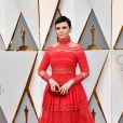 Ginnifer Goodwin de Zuhair Murad Pre-Fall  na 89ª edição do Oscar, em Los Angeles, na Califórnia, realizada na noite deste domingo, 26 de fevereiro de 2017
