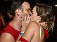 Fotos: Ana Paula Renault beija Matheus Mazzafera em camarote de Carnaval