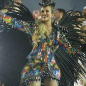 Barbara França estreia no Carnaval do Rio vestida de Ivete Sangalo: 'Usou em NY'