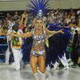 Com a fantasia Estrela de Juazeiro, Monique Alfradique representou o reconhecimento do talento de Ivete Sangalo em sua terra natal no desfile da escola de samba Grande Rio, em 27 de fevereiro de 2017