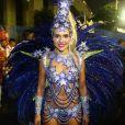 A atriz desconversou sobre a possibilidade de assumir o posto de rainha de bateria da Grande Rio: 'Vamos viver um Carnaval de cada vez'