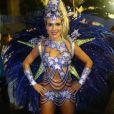 A artista revelou que é fã de Ivete Sangalo, homenageada pela Grande Rio: 'Só de ela começar a cantar, já deu um arrepio'