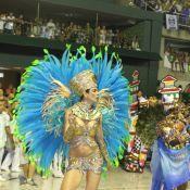 Vídeo: Luciana Gimenez tem companhia do filho, Lucas Jagger, no Carnaval do Rio