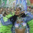 Camila Silva comandou os ritmistas da Mocidade