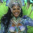 Camila Silva contou o que mais incomoda no look de rainha de bateria da Mocidade neste carnaval: 'Costeiro'