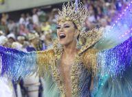 Tânia Oliveira diz que não pagou para ser rainha de bateria: 'Foi conquistado'