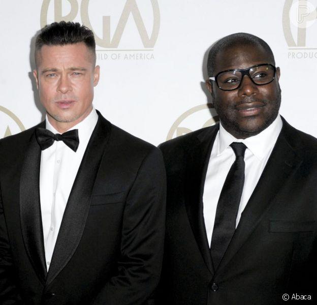 Chiwetel Ejiofor, Brad Pitt e o diretor Steve McQueen foram os grandes vencedores da noite do BAFTA 2014 por '12 Anos de Escravidão', que levou a estatueta de Melhor Filme na premiação que aconteceu em Londres na noite de domingo, 16 de fevereiro de 2014