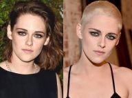 Kristen Stewart raspa o cabelo e mostra novo look em lançamento de filme. Fotos!