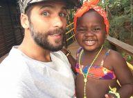 Em Paris, Giovanna Ewbank posta foto de Gagliasso com a filha, Títi: 'Saudade'
