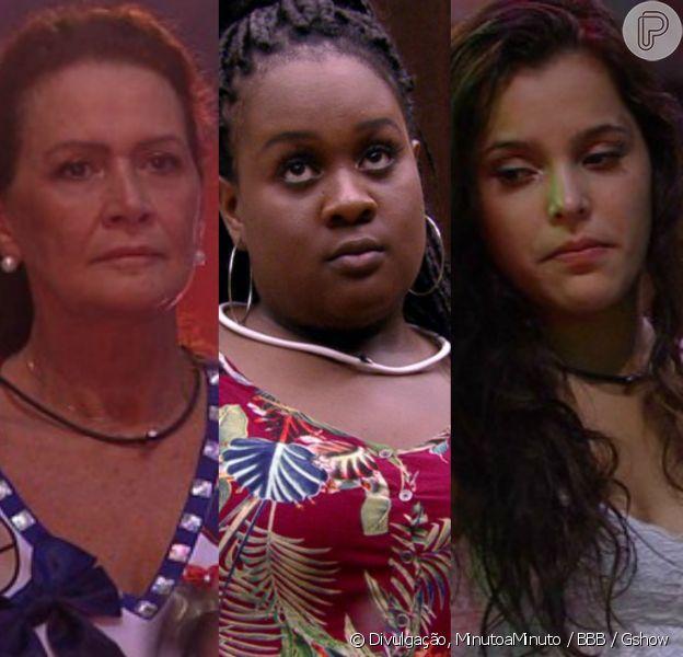 Na casa do 'Big Brother Brasil 17', Roberta refletiu sobre seu relacionamento com Emilly e Ieda com Vivian na tarde desta quinta-feira, dia 09 de março de 2017