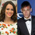'Faz parte da parceria de casal', contou a atriz sobre a torcida para Neymar