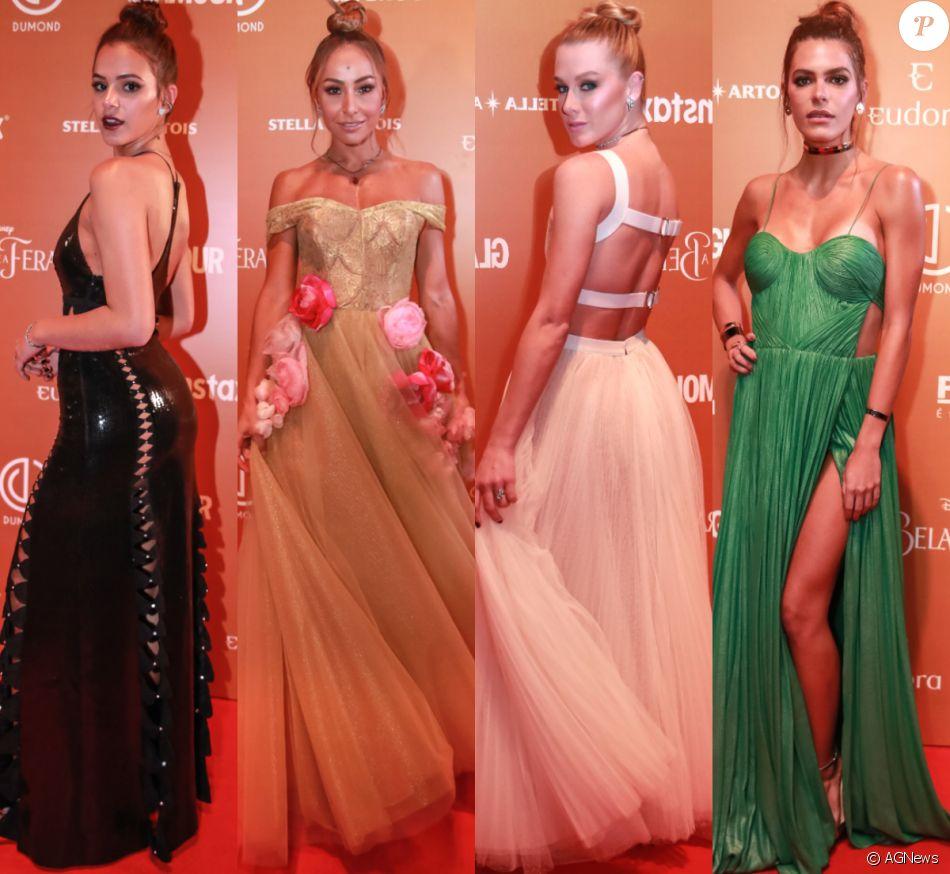 dd8aa571f3c Veja foto dos looks das famosas no  Prêmio Glamour 2017