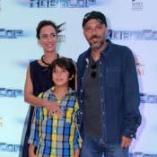 José Padilha, Joel Kinnaman e Michael Keaton lançam filme 'Robocop' no Rio