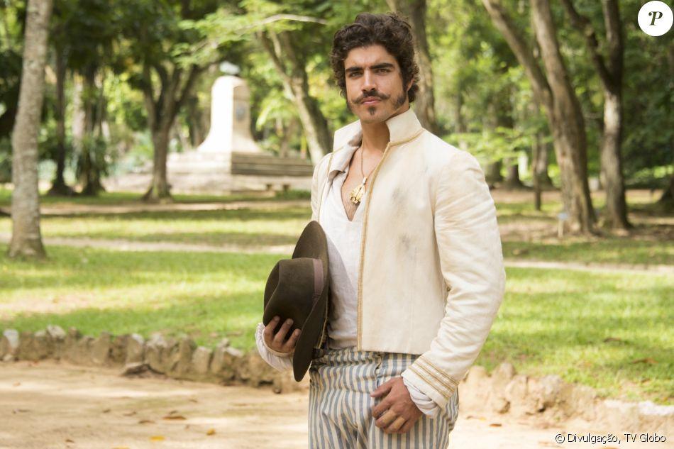Caio Castro está fazendo dieta para viver o personagem Dom Pedro em 'Novo Mundo'