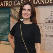 Fátima Bernardes prestigia estreia de peça de teatro de Marco Nanini, no Rio